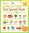 Listen and Learn First Spanish Words by Mairi Mackinnon, Sam Taplin (Hardback, 2015)