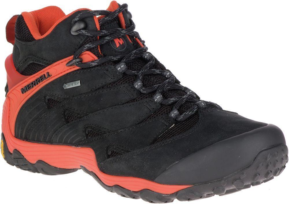 MERRELL Chameleon 7 Mid Gore-Tex J98281 Wanderstiefel Schuhe Stiefel Herren Neu