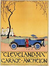 ADVERT AUTOMOBILE CAR CLEVELAND-SIX AMSTERDAM NETHERLANDS POSTER PRINT BB1667A