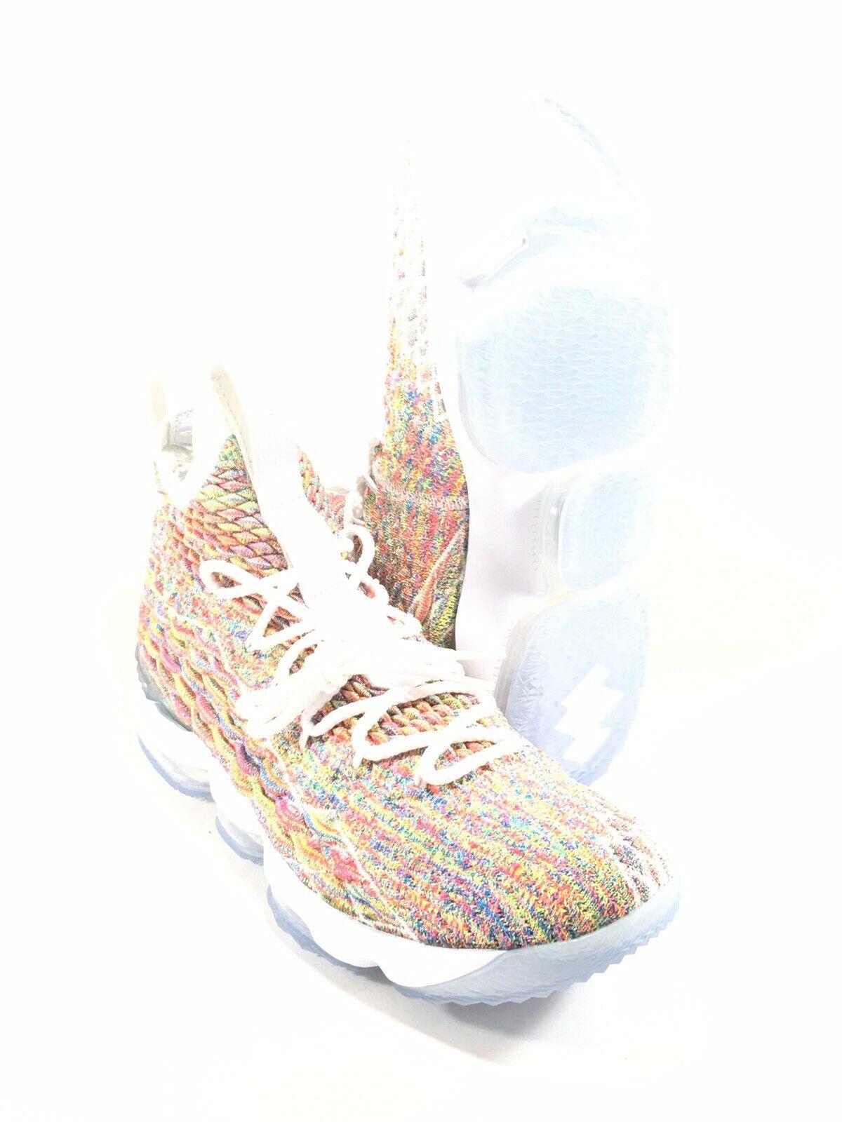 bf068e52c839 Nike Lebron XV XV XV 15 Fruitty Pebbles 897648-900 Men s size 9.5 US ...