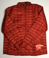 $199 NWT The North Face Mens Thermoball Full Zip Cardinal Red Jacket Coat M L XL