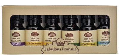 U PICK SET 6-10ml 100% Pure Therapeutic Grade Essential Oil by Fabulous Frannie