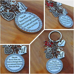 Image Is Loading Happy Birthday Gift Keyring For Friend Sister 13th