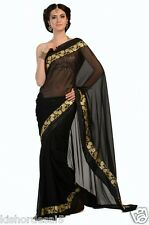 Veeraa Saree Exclusive Beautiful Designer Bollywood Indian Partywear Sari 111