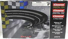 CARRERA 20574 RADIUS 1/30 CURVE BANKED NEW 1/32 1/24 SLOT CAR TRACK