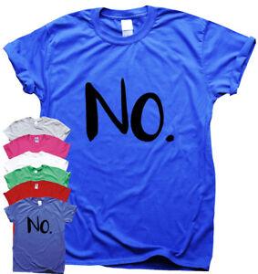 2019 Nouveau Style No. - Drôle T-shirts Homme Humour Cadeau Pour Femme Sarcastique Slogan Top-afficher Le Titre D'origine Ni Trop Dur Ni Trop Mou