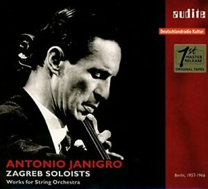 ANTONIO JANIGRO - WORKS FOR CHAMBER ORCH. [CD]