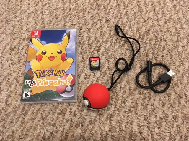 Pokemon Let's Go Pikachu! Bundle Nintendo Switch With Pokeball Plus Controller