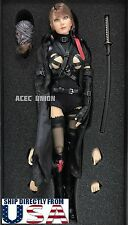 IN STOCK 1/6 Sexy Ninja Killer Dark Mourner Figure Premium Full Set U.S.A.