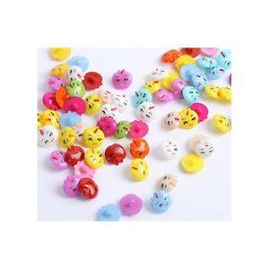 lot-de-20-Bouton-Mixte-scrapbooking-couture-decoration-bricolage-14-mm-env-pomme
