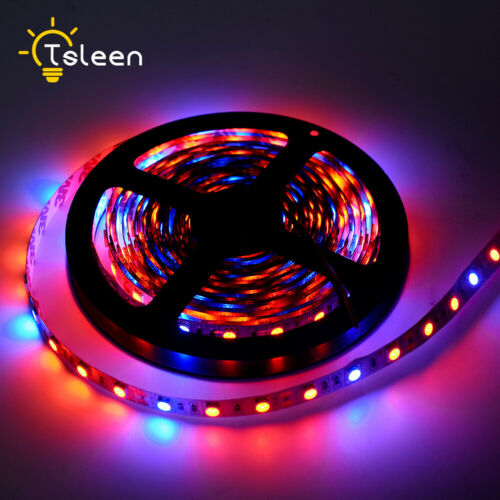 LED Plant Light Strip DC12V Power Adapter 3Red:1Blue For Flower Growth Lamp 6A2