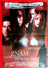 I KNOW WHAT YOU DID LAST SUMMER 1997 J. LOVE HEWITT HORROR SERBIAN MOVIE POSTER