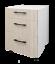 thumbnail 3 - Hardis 3 Drawers Base Kitchen Cabinet