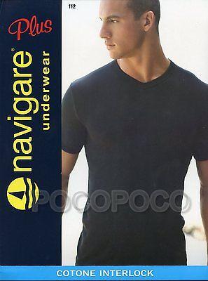 3 Maglie Navigare Cotone elasticizzato art.571 3//S Colore nero