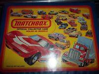 Mixed Lot 35 Vintage , Diecast Cars, Matchbox/Hot Wheels / Carry Case 1980