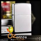 Zippo Lighter Satin Chrome 205 Genuine - Free Post in Australia