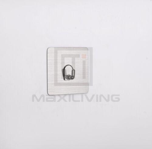 6x crochet de salle de bain serviette crochet de rangement murale armoire salle de bains cuisine 5084