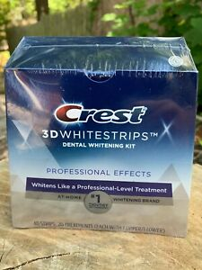 Crest 3d White Professional Effects Whitestrips Teeth Whitening