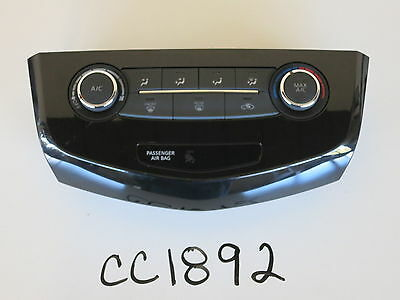 14 15 CHEVY MALIBU CLIMATE CONTROL PANEL TEMPERATURE UNIT A//C HEATER OEM CC1015