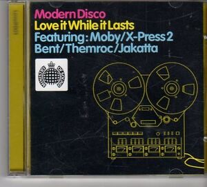 (FP707) Modern Disco - Love It While It Lasts (Ministry of Sound) - CD