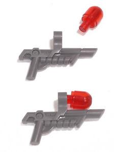 LEGO-Movie-2-x-Blaster-dunkelgrau-mit-Clip-und-Lichtkappe-15445-NEUWARE