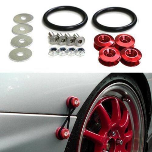 Quick Release Car Bumper Fender Trunk Hatch Lid Aluminum Alloy Fastener Kit J