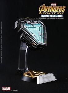Details about Marvel Avengers Infinity War Iron Man Mark L MK50 Arc Reactor  1:1 Prop Replica