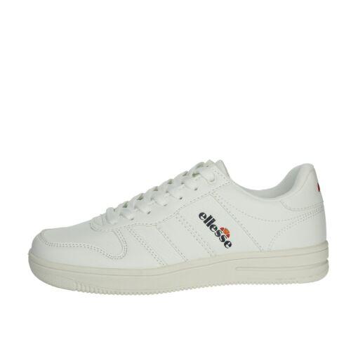 Ellesse Damen EL92U80405 Weiss Sneakers Herbst//Winter Leder  Synthetikleder