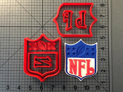 Football Logo 100 Cookie Cutter Set