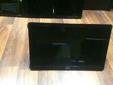 "USED AOC 16"" WIDESCREEN LED LCD MONITOR 16:9 PIANO BLACK E1649WU 156LM00003"