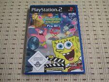 Spongebob Schwammkopf Film ab für Playstation 2 PS2 PS 2 *OVP*