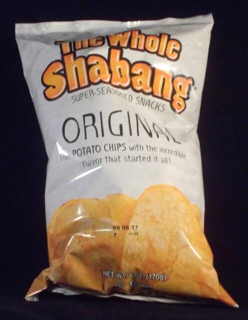 The Whole Shabang Super Seasoned Chips Snack Munchie