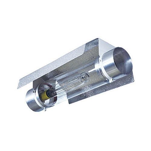 "COOLTUBE 6/"" GROW TENT LIGHT REFLECTOR COOL TUBE ALUMINIUM ABOVE"