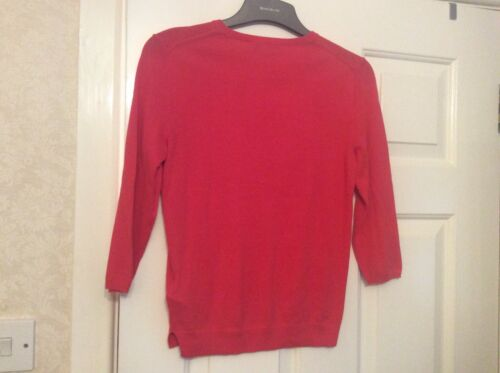 Lk Bennett Xs 55 Jelly Womens Jumper Cotton Bean Silk 45 FZqFrw