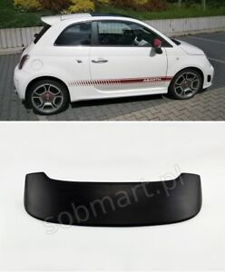 Details About Fiat 500 Roof Spoiler Abarth Tuning