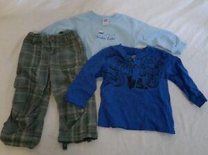 Boys Baby 24 mo 2T Clothes lot Guess Garanimals Toddler