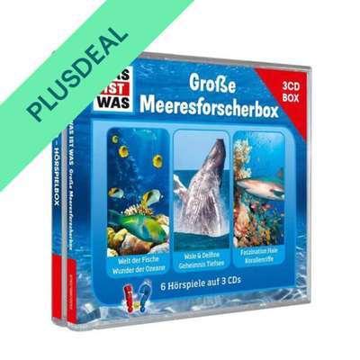 WAS IST WAS 3-CD-Hörspielbox: Meeresforscher