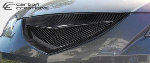 04-09 Mazda 3 4DR Carbon Fiber Open Mouth Grille 105030