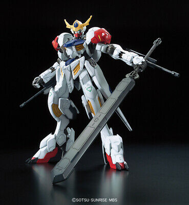 Di Larghe Vedute Gundam Barbatos Lupus Full Mechanics Gunpla Iron-blooded Orphans 1/100 Bandai