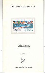 Chile-1984-Brochure-Tercera-Feria-Internacional-del-Aire-FIDA