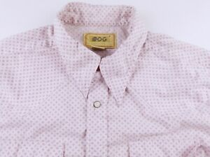 KL584 from USA market BDG retro 80s/90s style western cowboy shirt size L, EXC!