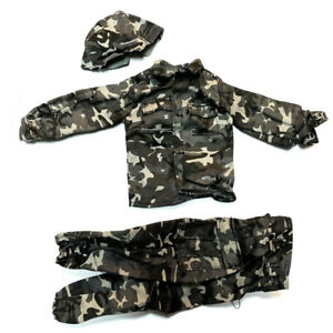 New-1-6-21st-Century-WWII-Army-Uniform-Set-For-12-034-The-Ultimate-Soldier-GI-Joe