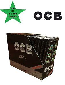 OCB Slim + filtre, cale lots de 1 à 400 carnets de feuille à rouler longue
