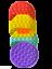 thumbnail 17 - Push Pops  its bubbles toy Sensory fidget stress relief anti-anxiety