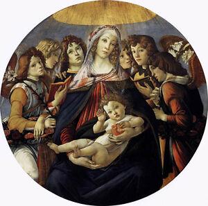 Wonderful-art-Oil-painting-Sandro-Botticelli-Madonna-of-the-Pomegranate-canvas