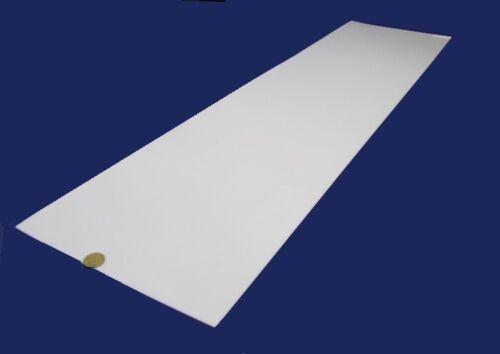 "White POM 1//16 Delrin Acetal Sheet .062 Thick x 12/"" Width x 48/"" Length,2 Unit"