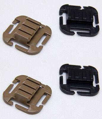 ITW Nexus QASM Ramp MOLLE/PALS Picatinny M1913-2 Pack-Black-Coyote-Tan