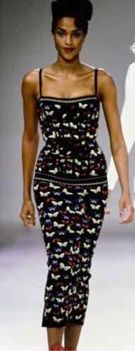 Vintage AZZEDINE ALAIA Butterfly Skirt 1991