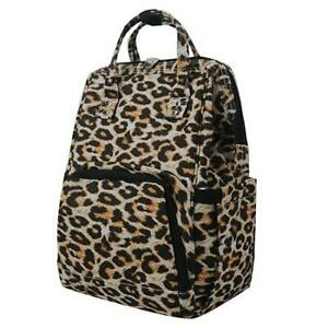 Wild Leopard Print NGIL Diaper Bag Baby Kids Toddler Mom Backpack Free Ship! NEW
