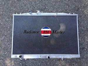 aluminum radiator for 2004 2008 acura tl 3 2l v6 j32a3 05